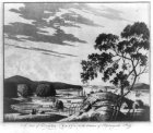 Joseph F W Des Barres 1780 View of Campo Bello at the entrance of Passamaquoddy Bay - aquatint with etching LC-USZ62-31951